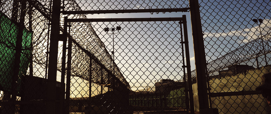 Razorwiretopped fences in the Camp Six detention facility at US Naval Station, Guantánamo. Photo: Mandel Ngan / REUTERS