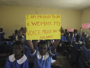 Empowering girls against breast ironing in Cameroon.Nakinti Besumbu Nofuru/Gender Danger