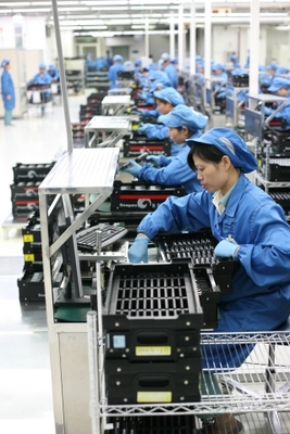 Factory assembly line in China. Is economic growth key to meeting a population's needs?Robert Scoble Under a CC Licence