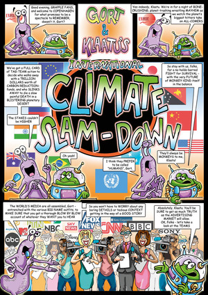 Gort and Klaatu's International Climate Slam-Down