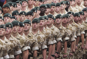 Gone for soldiers David Cheskin / PA Wire