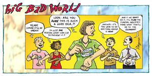 Big Bad World - Mass suicide
