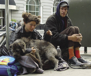 Homeless in San Francisco. Many Americans are in denial about their dependence on the state.Franco Folini Under a CC Licence