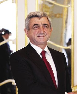 Reintroducing... Serzh Sargsyan Wikipedia Commons