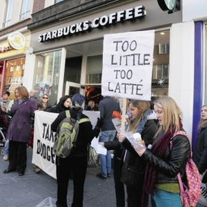 Action on Starbucks: Consumer power or homemade protest?