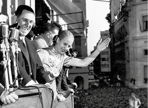 Eva and Juan Perón
