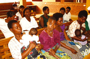 Stella Kawelama waiting for an appointment at Zomba General Hospital.Photos by Pilirani Semu-banda