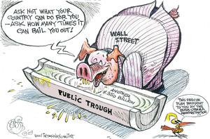 Public trough