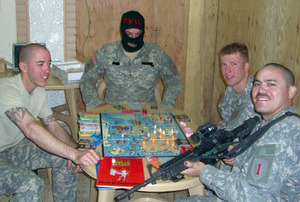 Making a game of it: engaging in the War on Terror.Image: