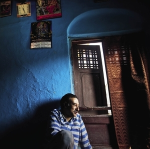'We all played together, Hindus and Muslims alike' – sitting in his childhood home, Sanjay Tickoo recalls happier times.Sofi Lundin