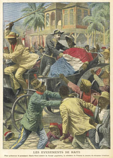 We will be free! This revolt was against an unpopular leader in 1908 . Haitians have had to contend with all too many dictators and exploitative governments.