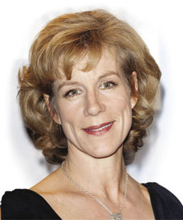 And Finally... Juliet Stevenson Mark Cuthbert/UK Press/Press Association Images