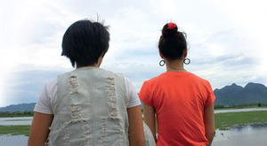 Qui and Phong see their homeland at last.