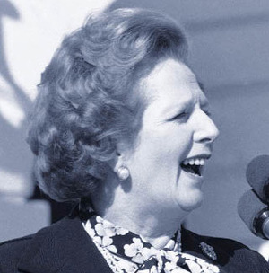 Margaret Thatcher is The Iron Lady
