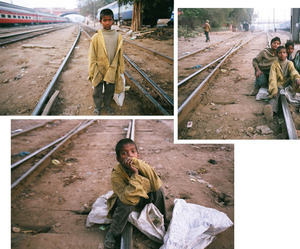 For Jamile, city life is a daily struggle to find food and shelter, and to avoid multiple dangers.Railway Children