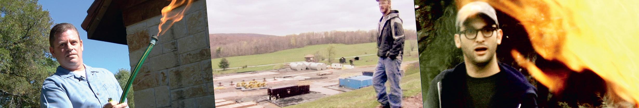 Stills from Gasland Part 2.