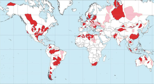 Shale oil and gas basins worldwide (May 2013).