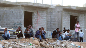 Going home: Ethiopian migrant workers in southern RiyadhAP Photo