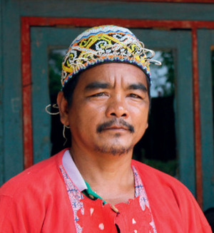 Dayak leader, Gagay: 'I want to sue the mining company for what they have done to us.'Glyn Thomas/WDM