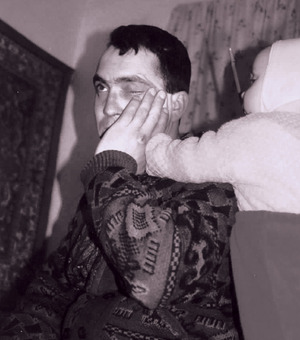 Nicolae, a father of three children, suffers from chronic hypertension. He fears he will not see them grow up.