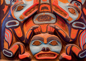 Family and kinship are an important part of Tlingit art and culture.Robert Harding World Imagery/Alamy