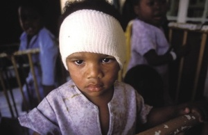 No more tears? Drug patents deny poor children access to life-saving HIV treatment.Eric Miller/Panos