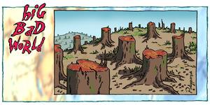 Big Bad World - Trees