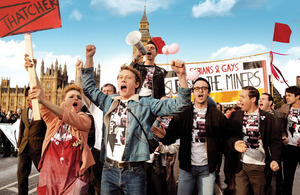 Pride – a rousing and utterly magnificent true story.