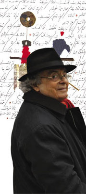 Adonis, Arab poet, critic and thinker.
