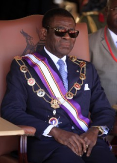 The dirt on Teodoro Obiang James Akena/Reuters
