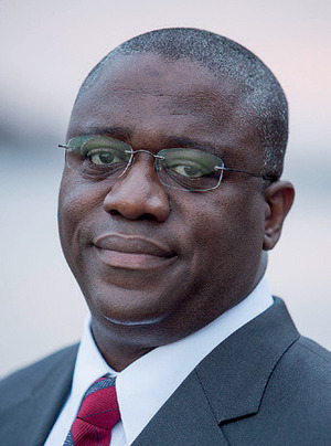 Lawrence Jones is Vice-President for Utility, Innovations & Infrastructure Resilience at Alstom Grid in North America; born in Liberia, he has a particular interest in the use of smarter grids to provide power to Africa.