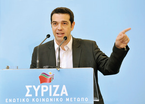 Alexis Tsipras, Greece's Prime Minister.Art of Focus/ Alamy