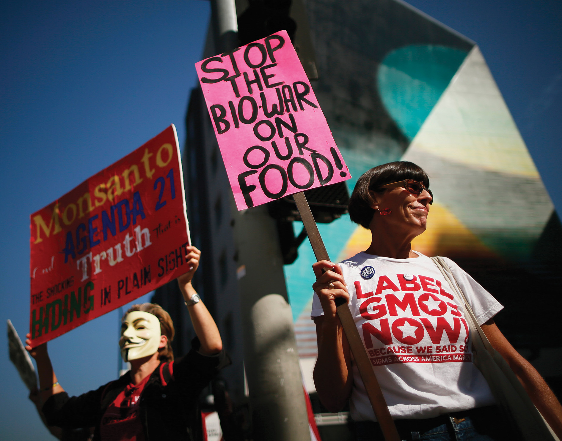 On 23 May protesters worldwide will be taking to the streets to 'March Against Monsanto!' They accuse the biotech giant of both poisoning and controlling the food supply.