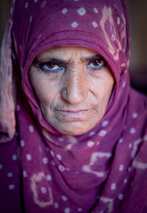 Sarvaja's husband was shot in 1996. She still does not know who killed him.