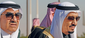 Keep it in the family: Deputy Crown Prince Mohammed bin Nayef follows his uncle King Salman.