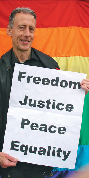 Photo: Peter Tatchell