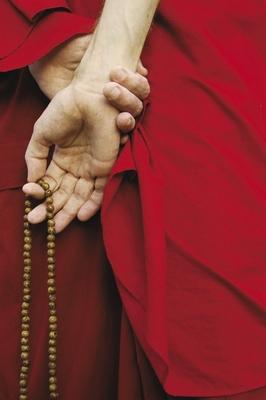 Tibetan calm and karma