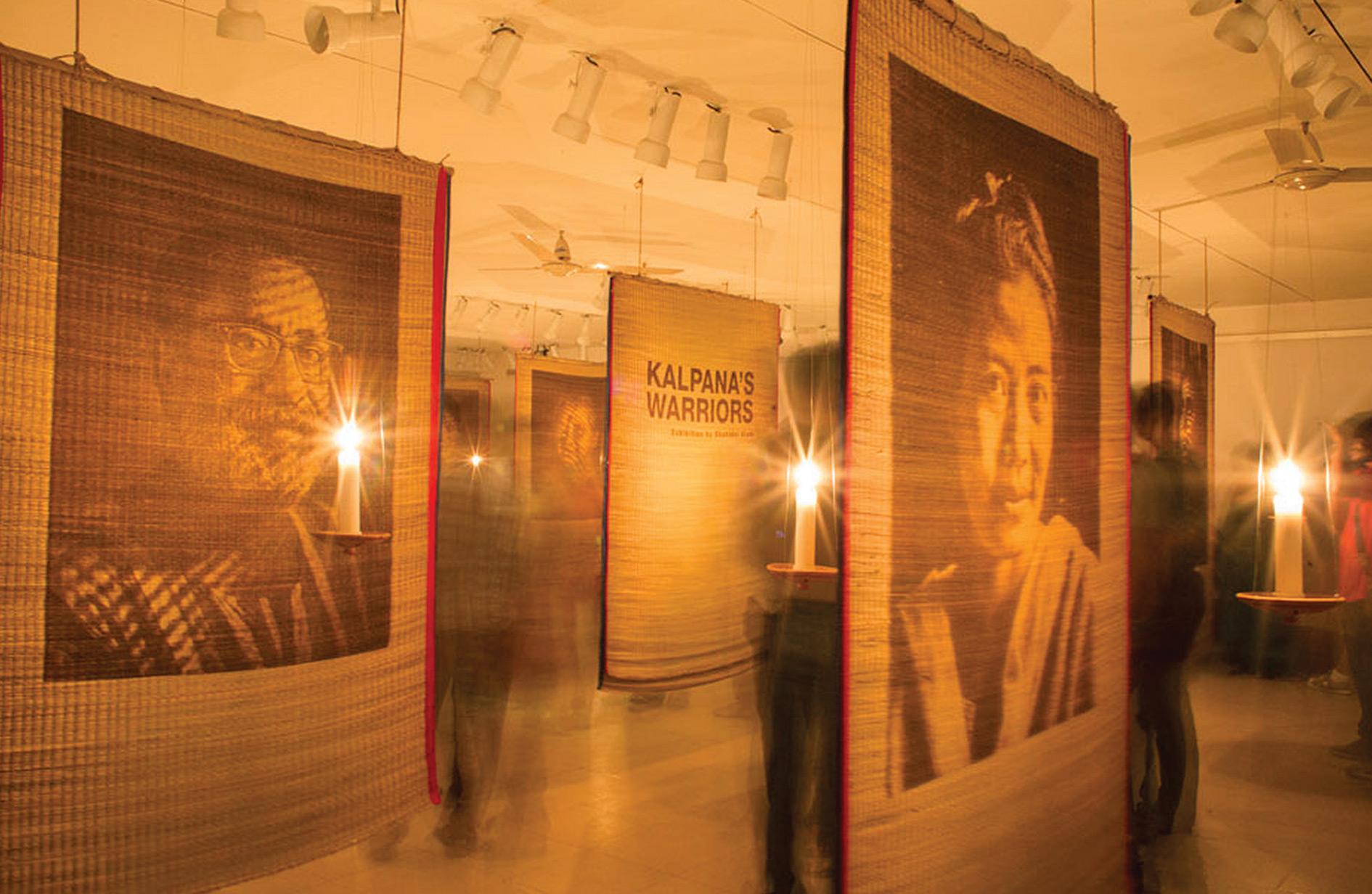 A reminder that a nation that fought oppression cannot rule by oppression: the Kalpana's Warriors exhibition.