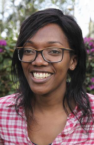 Audrey Mbugua, Kenya's brave and incisive transgender campaigner.