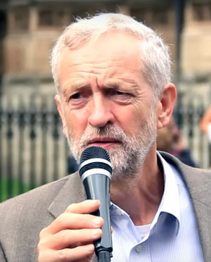 Labour Party leader Jeremy Corbyn.RevolutionBahrainMC/Wikipedia Commons