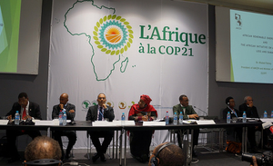 Rwanda is attending the Paris Climate Talks (COP21) and calling for strong action on climate change to reduce temperature increases to below 1.5 degrees Celsius.