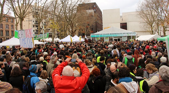Global Village, Paris, France, COP21, December 2015.