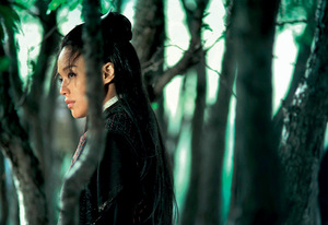 Shu Qi plays the contemplative killer.