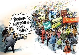 Scratchy Lines - Political correctness