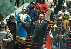 The end of satire, Erdoğan-style (see: 'Sense of humour').Photo: Adem Altan/AP/Press Association Images