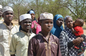 Boko Haram suspects released by the army.