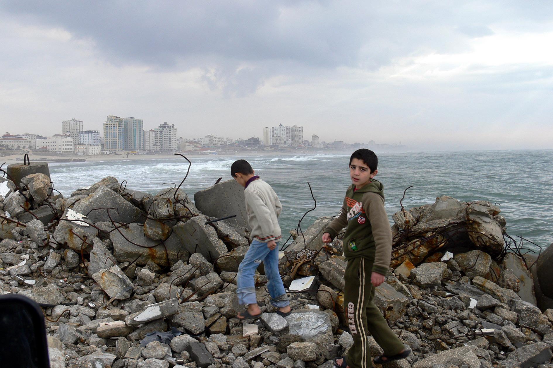 Gaza, February 2007.