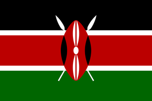 Kenyan flagWikimedia Commons