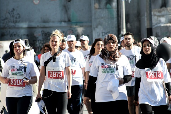 Almost half of the participants were women, a huge achievement given the prevailing social norms that view women running in the streets with patriarchal suspicion.