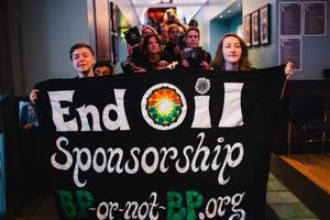 BP is loath to admit that campaigners have won the art sponsorship PR battle.Photo © Andrew Perry